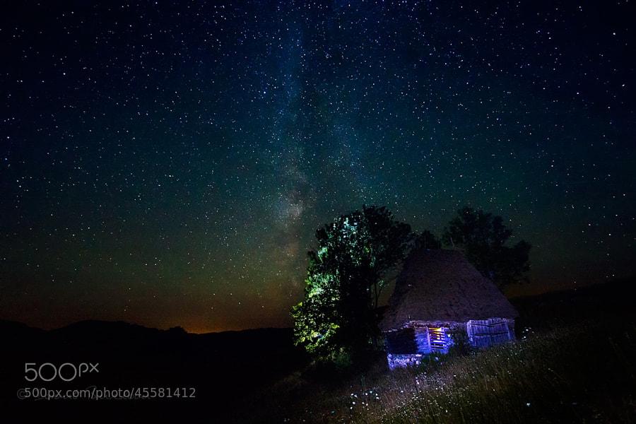 Photograph Cosmic connection by Ionut Burloiu on 500px