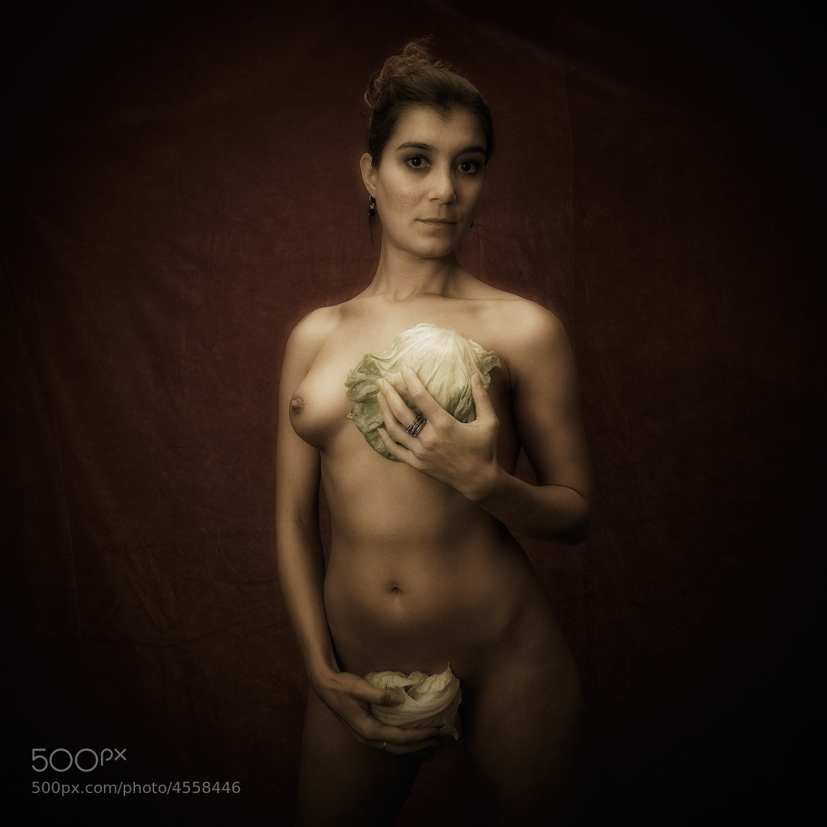 Photograph Woman with vegetable. by Bert Hanekamp on 500px