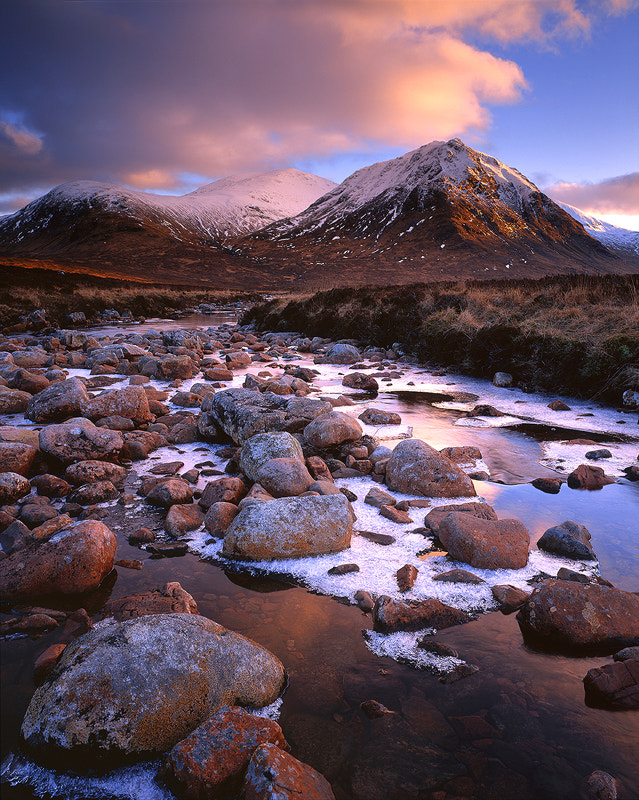Photograph Evening, River Coupall, Glencoe by Edward Fury on 500px