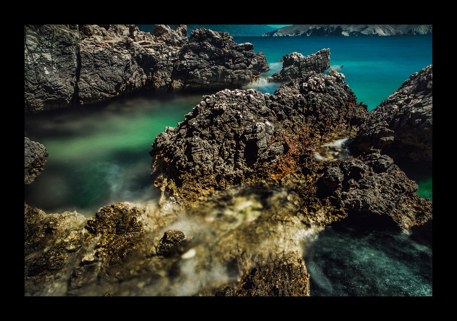 Photograph sea rocks by FeFoPhotography  on 500px