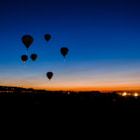 Постер, плакат: Dawn Partol at Reno Balloon race