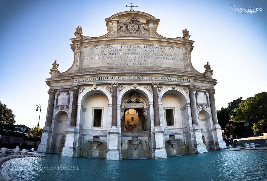 Rome - Fontanone by Daniele Lembo (DanieleLembo)) on 500px.com