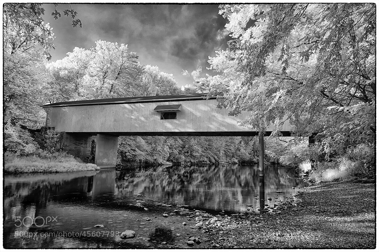 Photograph Adams Covered Bridge by James Hilliard on 500px