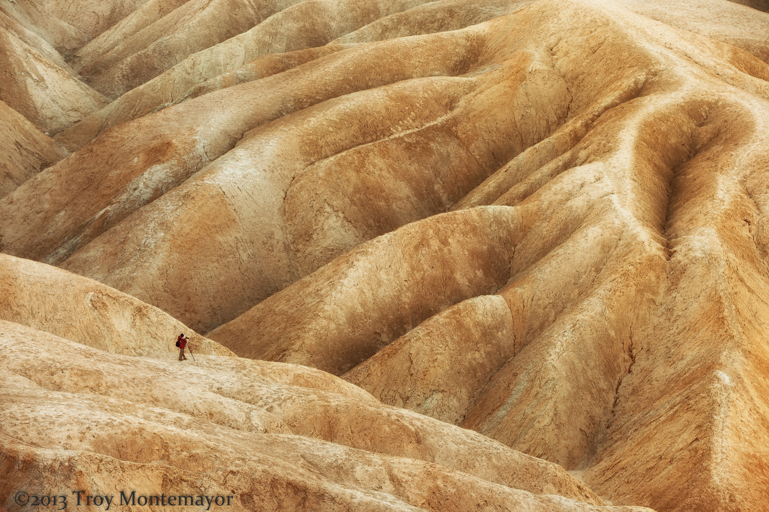 Photograph Photographer, Badlands, Death Valley, CA by Troy Montemayor on 500px