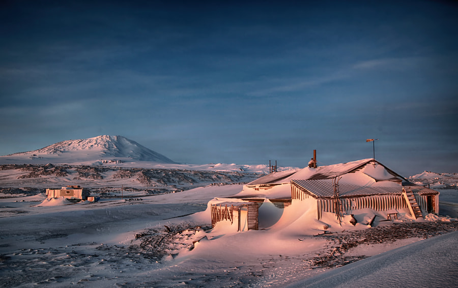 Photograph In the Shadow of Erebus by Deven Stross on 500px