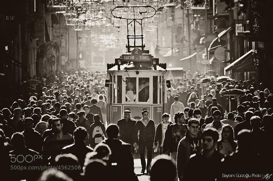 İstiklal cd. by Bayram Gürzoğlu (byGurzogluphoto) on 500px.com