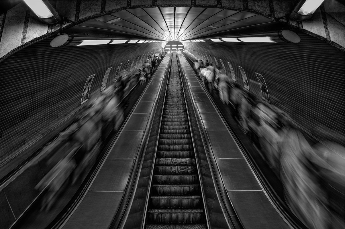 Photograph Prague's subway 1 by Bertrand CHOMBART on 500px