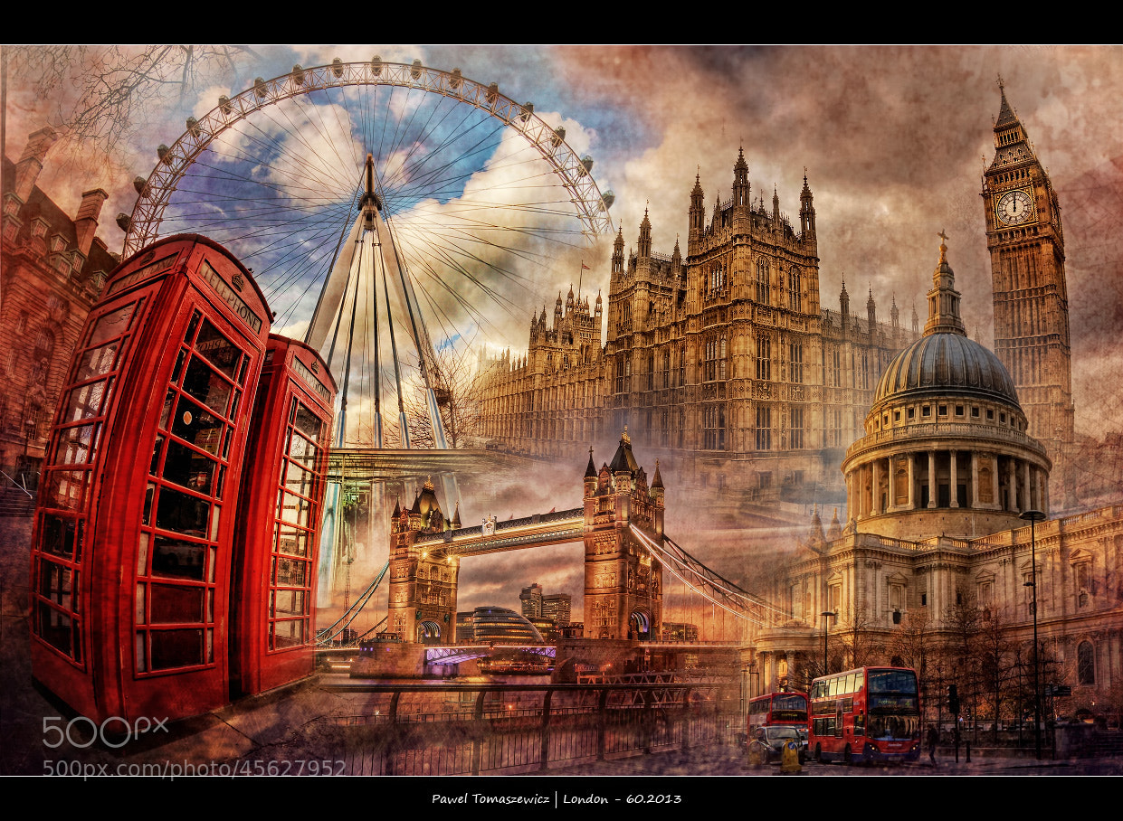 Photograph London Collage ... by Pawel Tomaszewicz on 500px