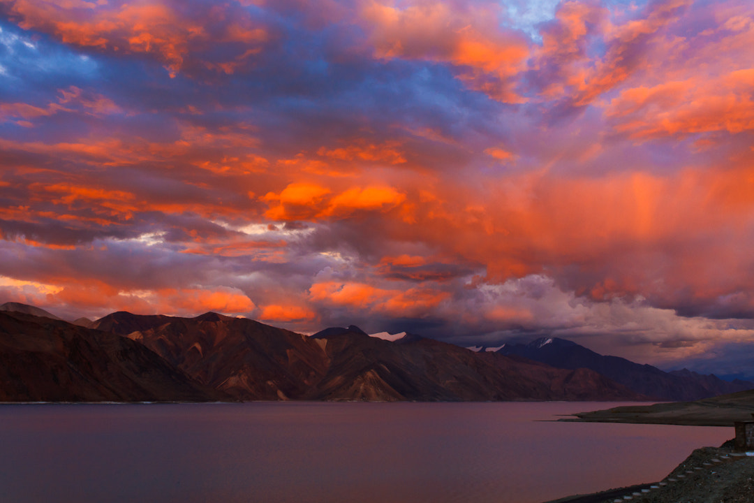 Photograph Glorious Evening at Pangong... by Amod Sane on 500px