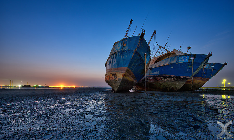 Old Fishing Boats Blues