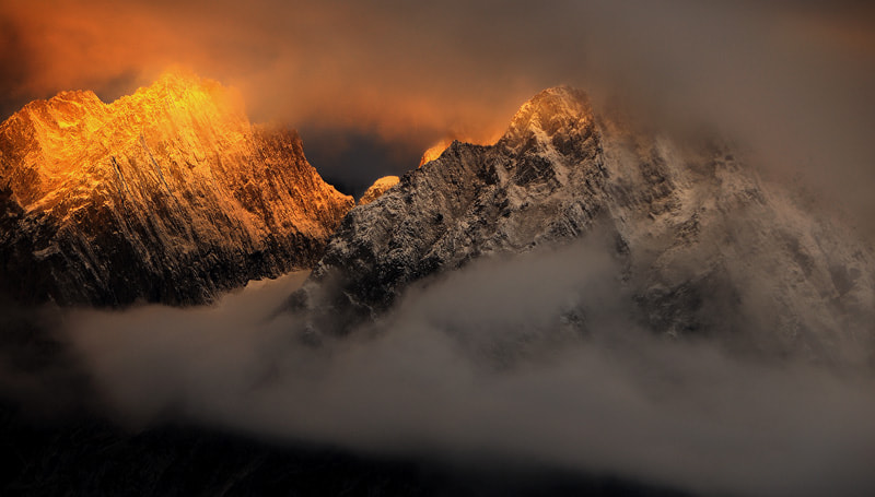 Photograph Surrounded by the light by Ambre De l'AlPe on 500px