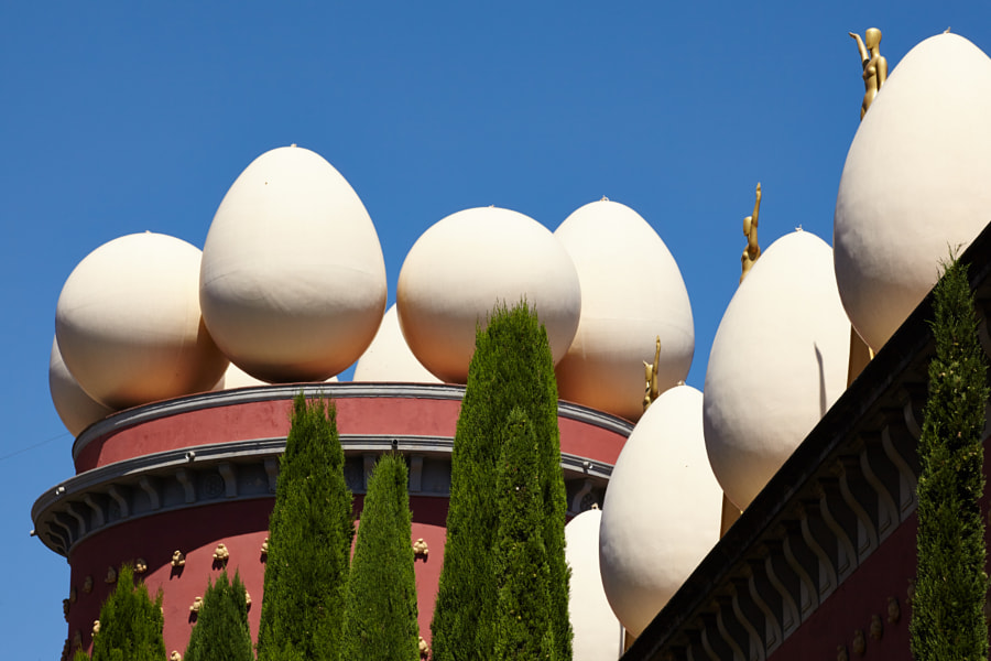 Egg's on the Dali museum