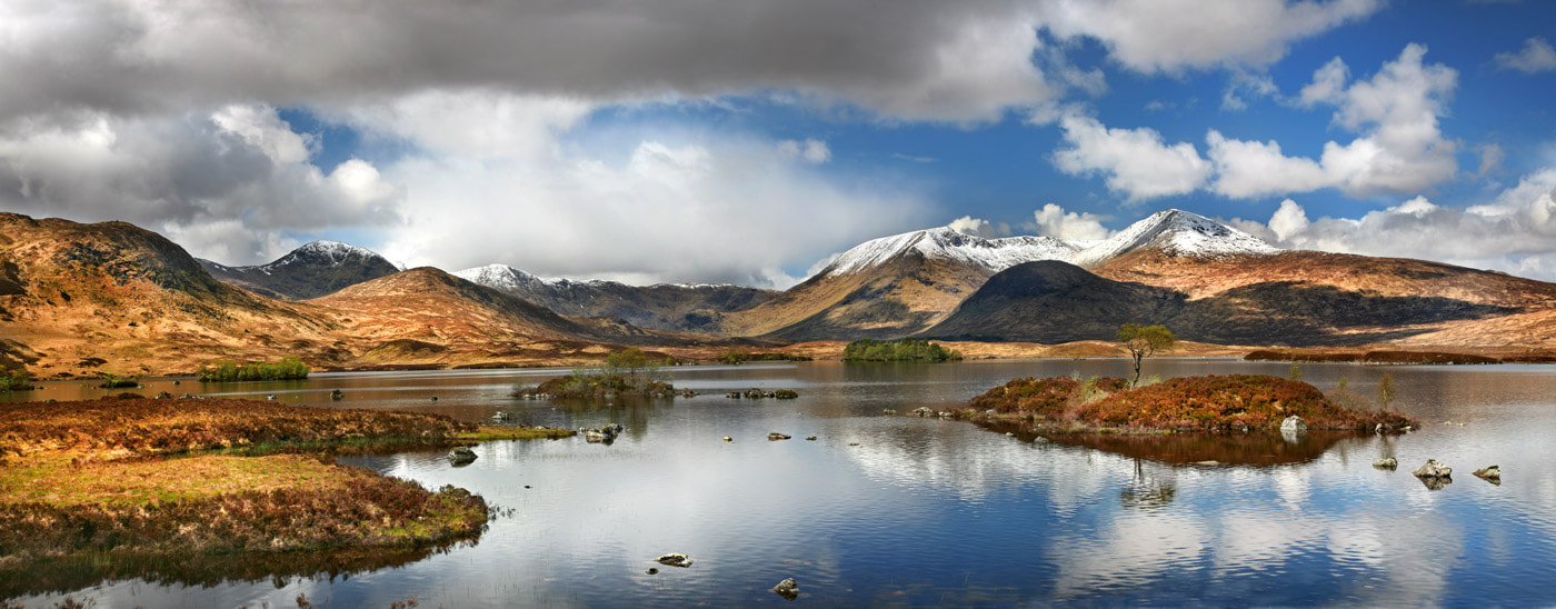 Photograph Rannoch Panorama by Stephen Emerson on 500px