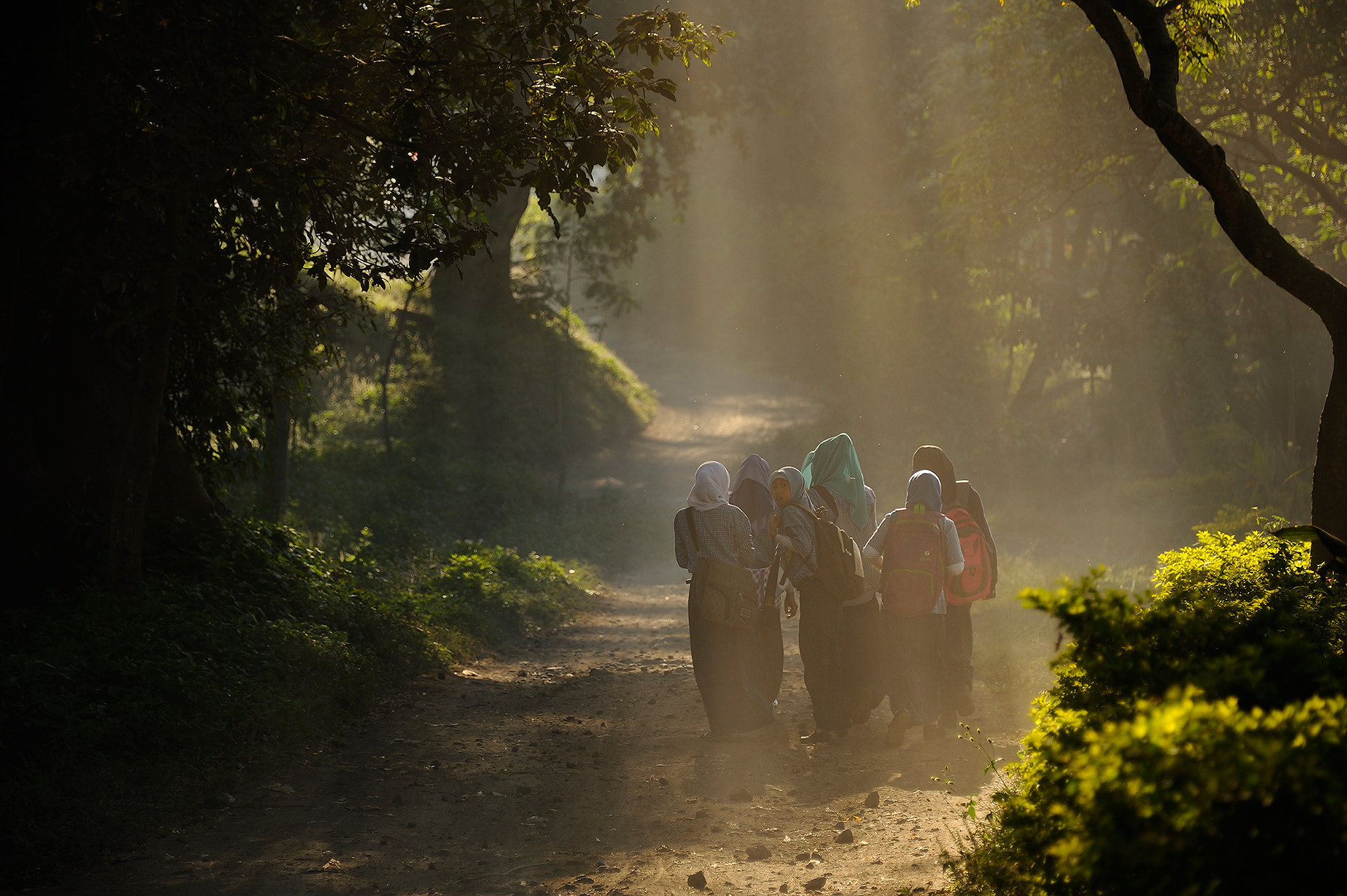 Photograph Go to school by Puchong Pannoi on 500px