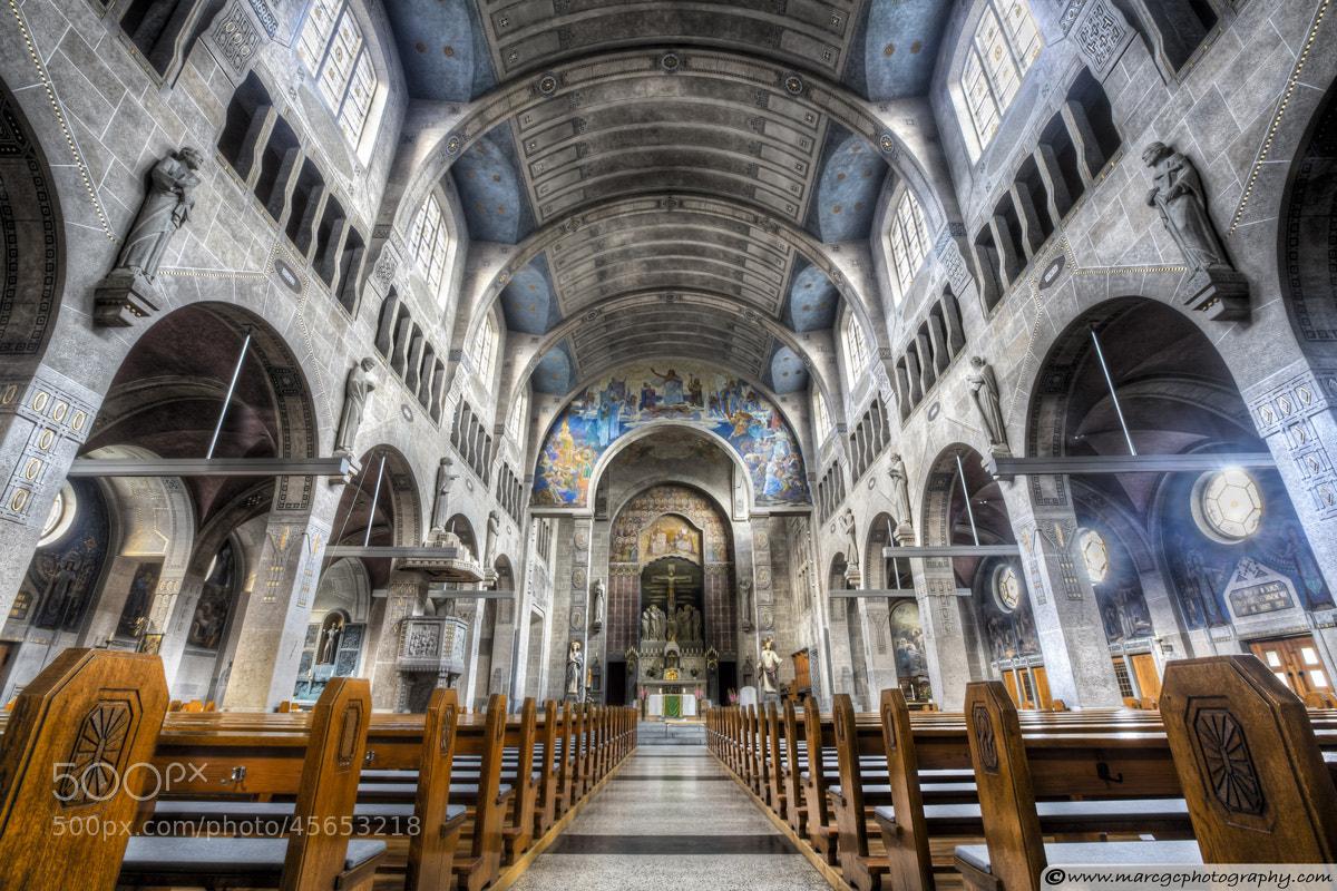 Photograph Saint George Church, Hockenheim (Germany) by Marc Garrido on 500px