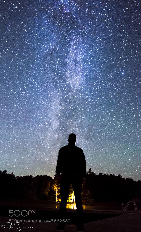 Photograph Milky Way Watcher by Riku Toivonen on 500px