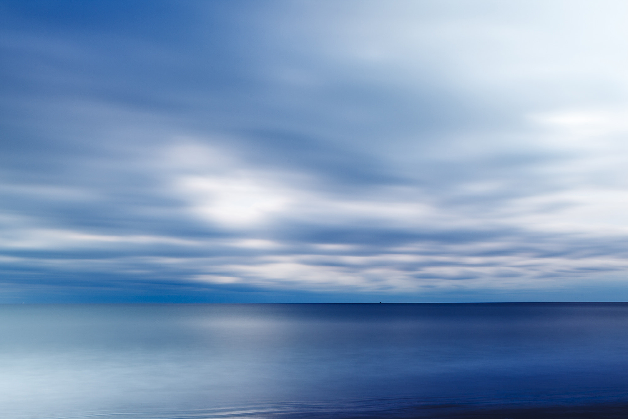 Photograph Blue - Clouds over the Atlantic Ocean by Jerry Monkman on 500px
