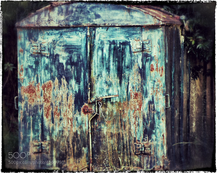 A storage shed in Antananarivo, Madagascar