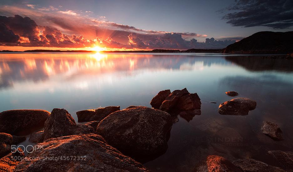 Photograph Ellösfjord Sunset by Felix Inden on 500px