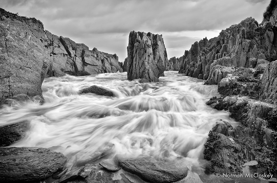 Photograph Dunnycove Rocks by norman mccloskey on 500px