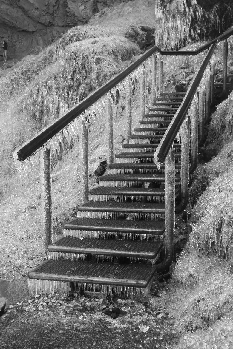 Photograph Frozen Staircase by Fabian Wormhoudt on 500px
