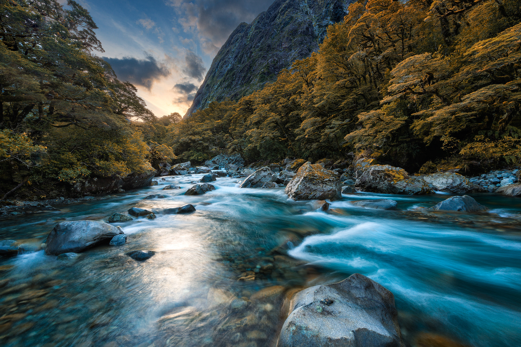 Photograph Sunset at Fiordland National Park by Danny Xeero on 500px