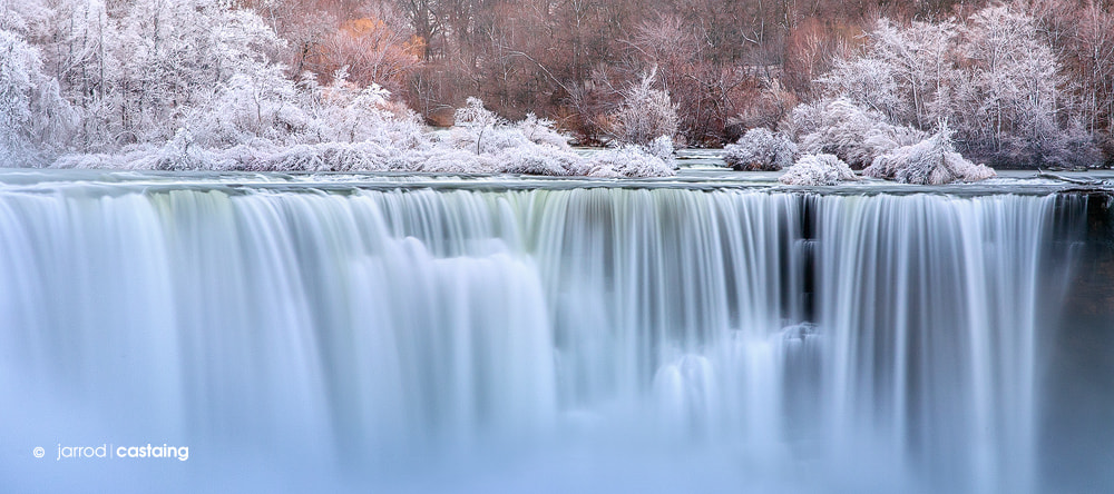 Photograph Winter Falls by Jarrod Castaing on 500px