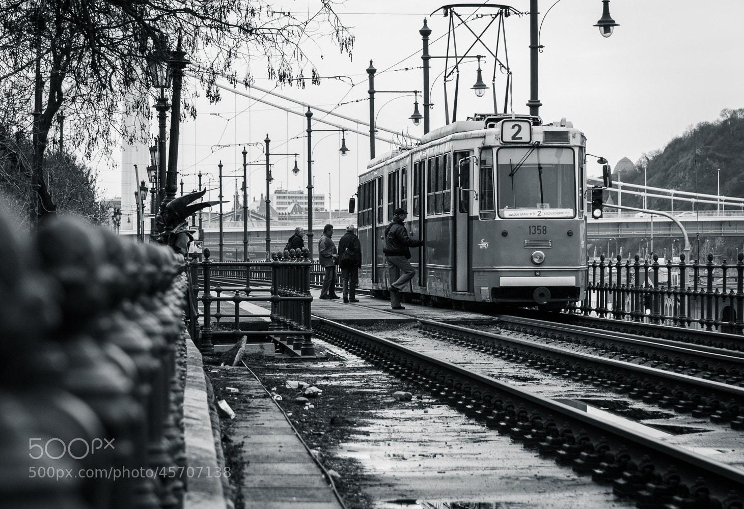 Photograph Budapest tram by Filipe Miranda on 500px