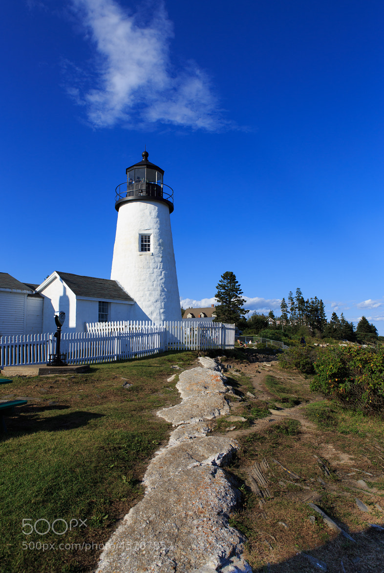Photograph Pemaquid lighthouse ME by Oleg Kotelskiy on 500px