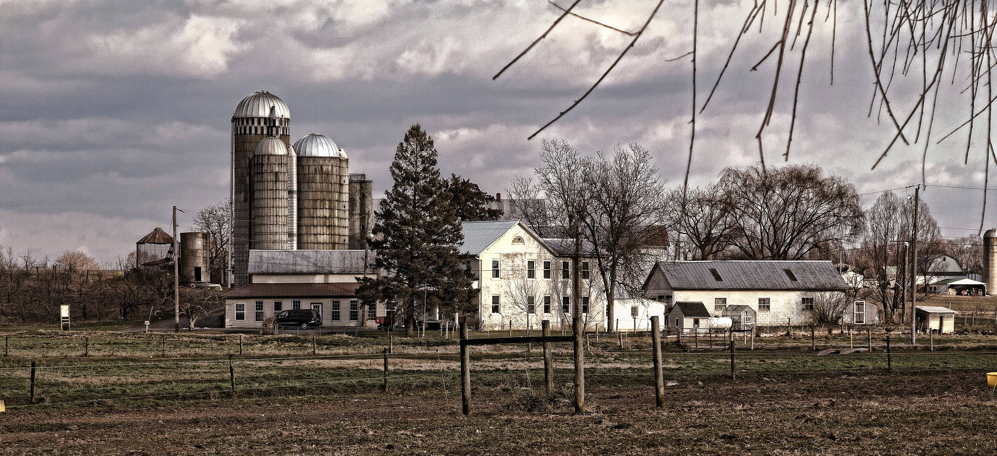 Photograph Small Farm Many Silos by Scott Nelson on 500px