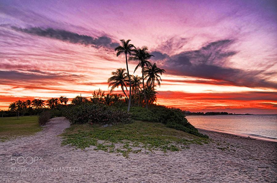 Sunset Over Paradise Island