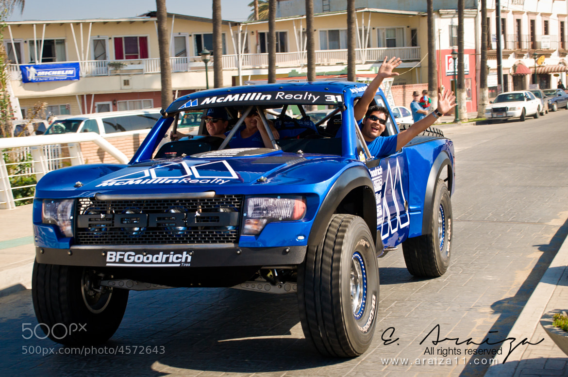 Photograph How not to be Happy on a 850HP Truck?? by E. Araiza on 500px