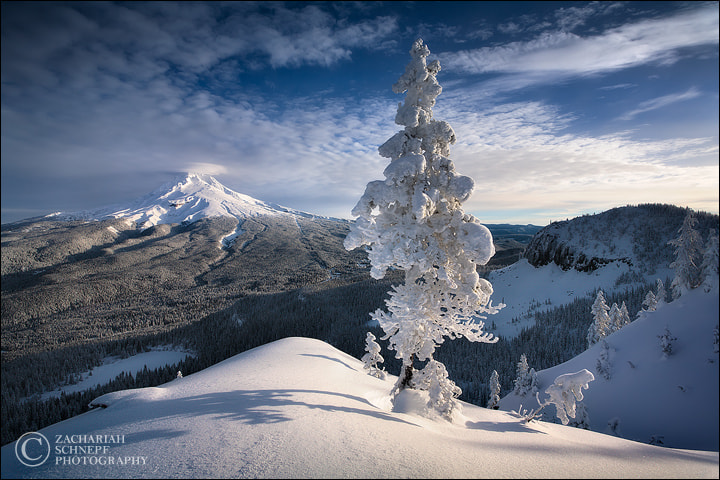Photograph Mount Hood Winter by Zack Schnepf on 500px