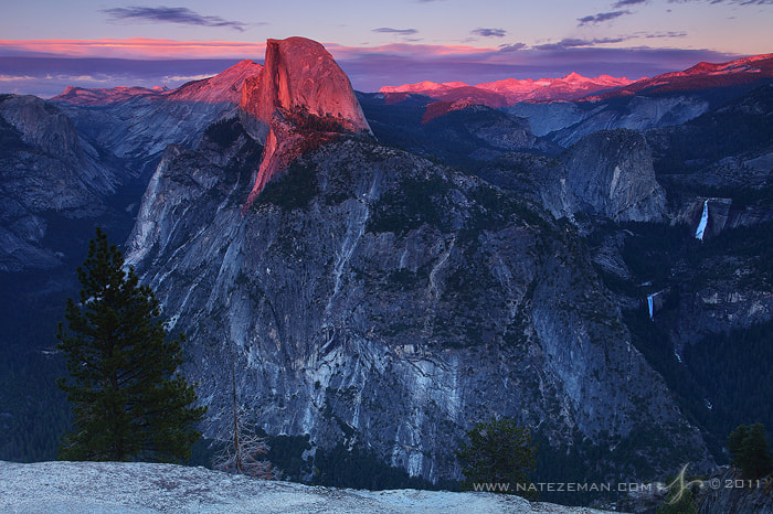 Photograph Glacier Point Sunset by Nate Zeman | natezeman.com on 500px