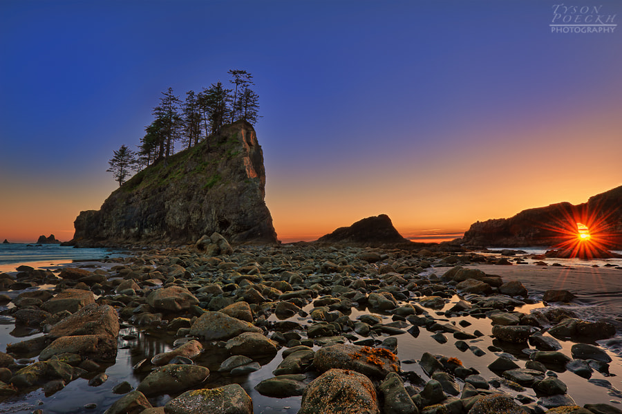 Photograph Second Beach Olympic National Park by Tyson Poeckh on 500px