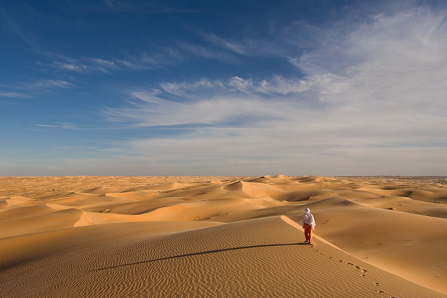 Lost in dunes by yves L. on 500px.com