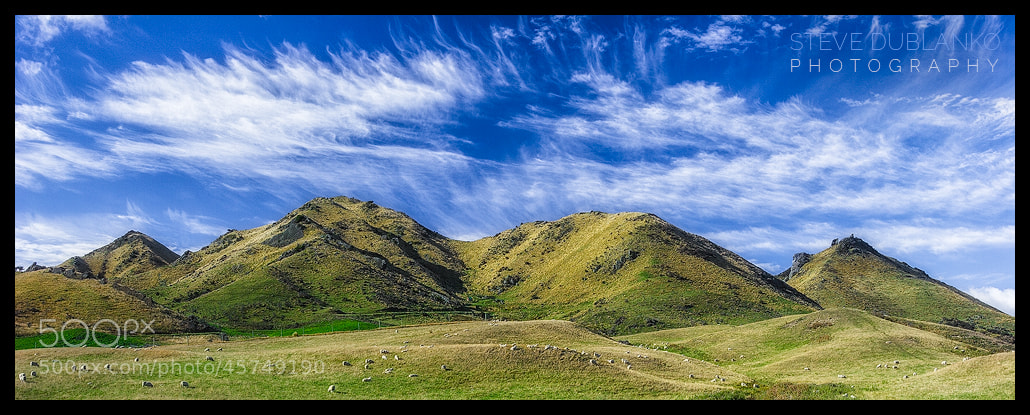 Photograph New Zealand Skies by Steve Dublanko on 500px