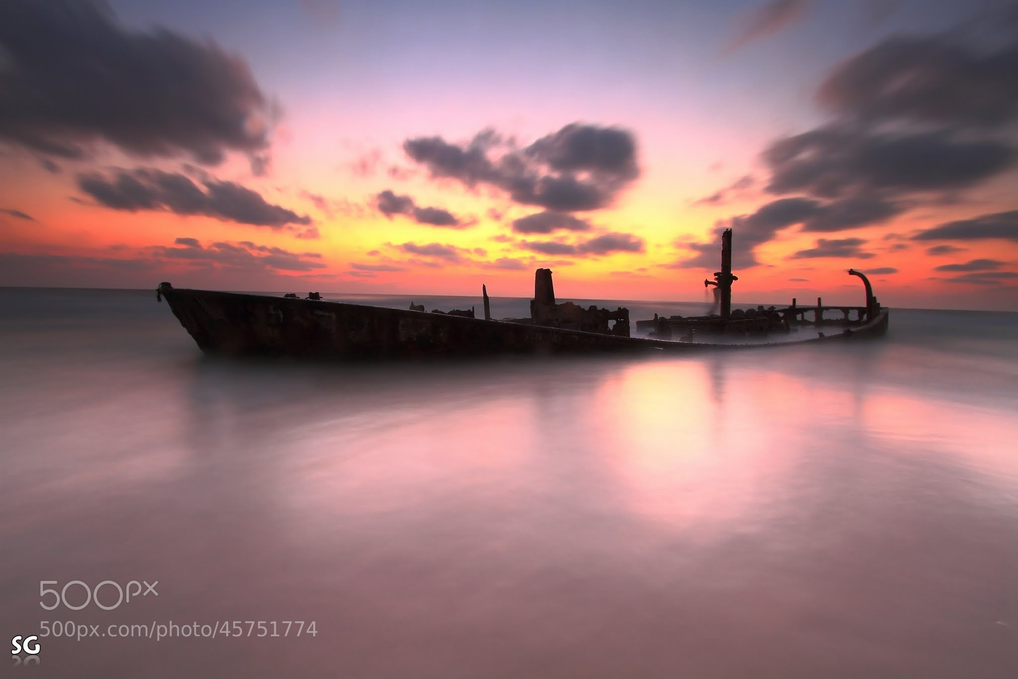 Photograph Silent Wreck by Shai  Getzoff on 500px