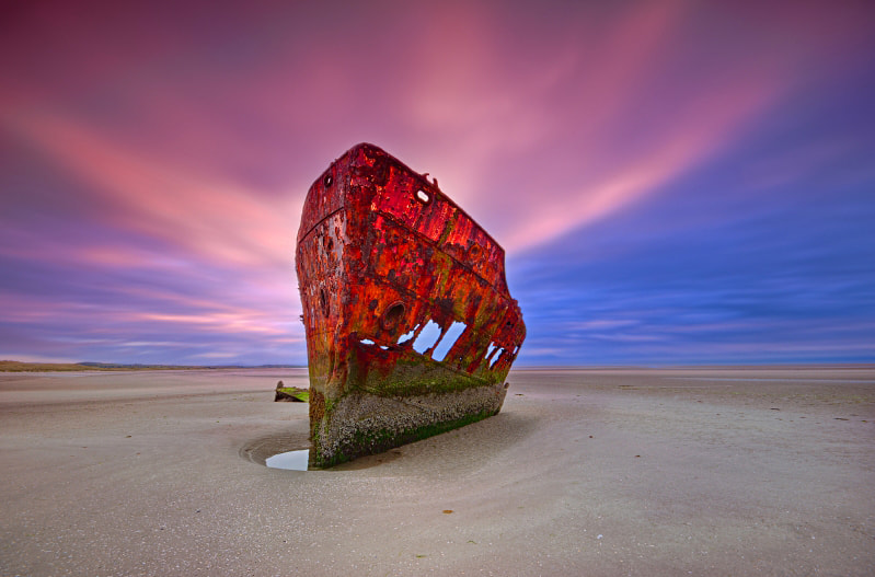 Photograph Baltray wreck. by Darek Gruszka on 500px