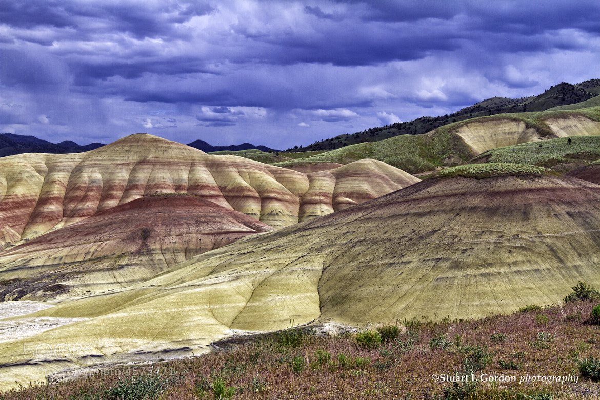 Photograph Gathering Storm Over The Painted Hills by Stuart Gordon on 500px