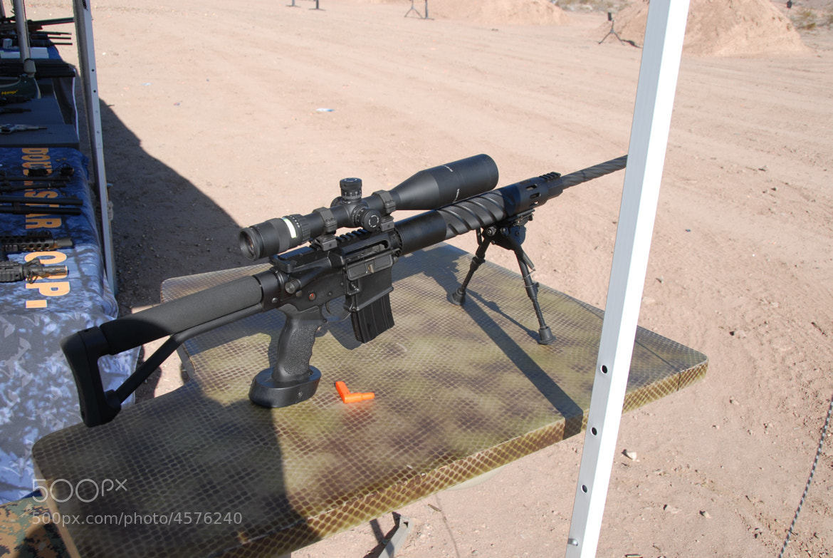 Photograph AR-15 Tactical Rifle in 308 by Kevin Paulson on 500px