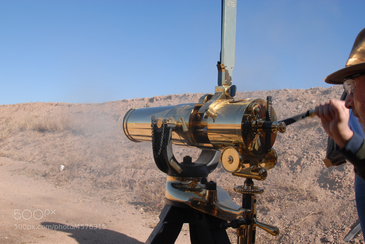 Photograph Gatling Gun in Action by Kevin Paulson on 500px
