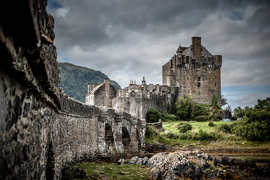Photograph Eilean Donan Castle by Andrew Ilms on 500px