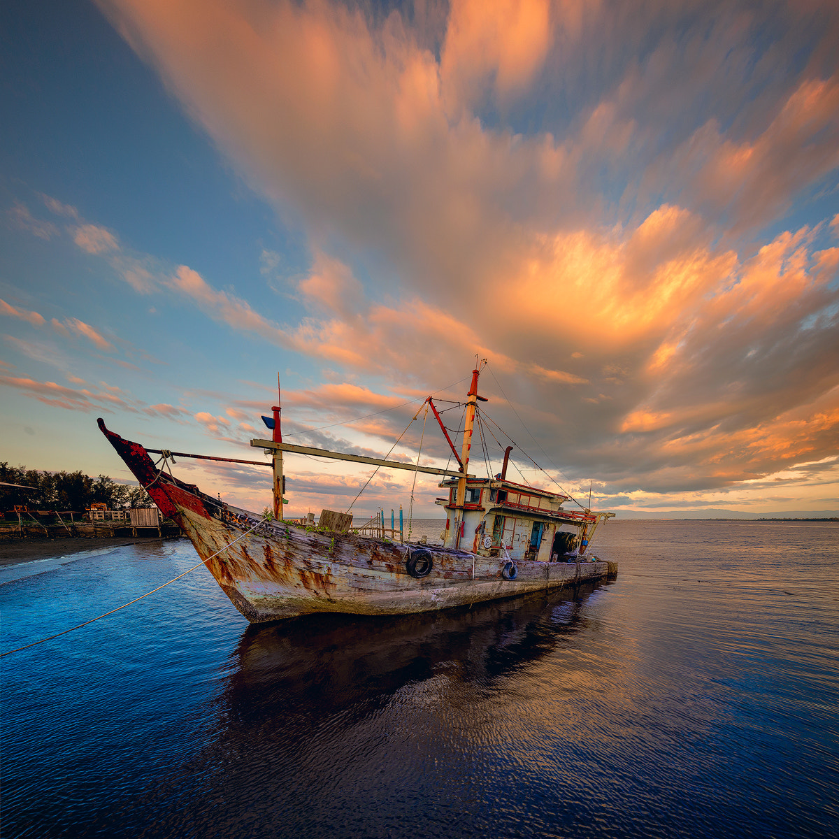 Photograph Stranded Ship. by Esmar Abdul on 500px