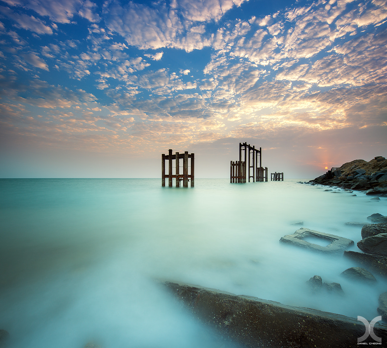 Photograph The Muted Sunrise by Daniel Cheong on 500px
