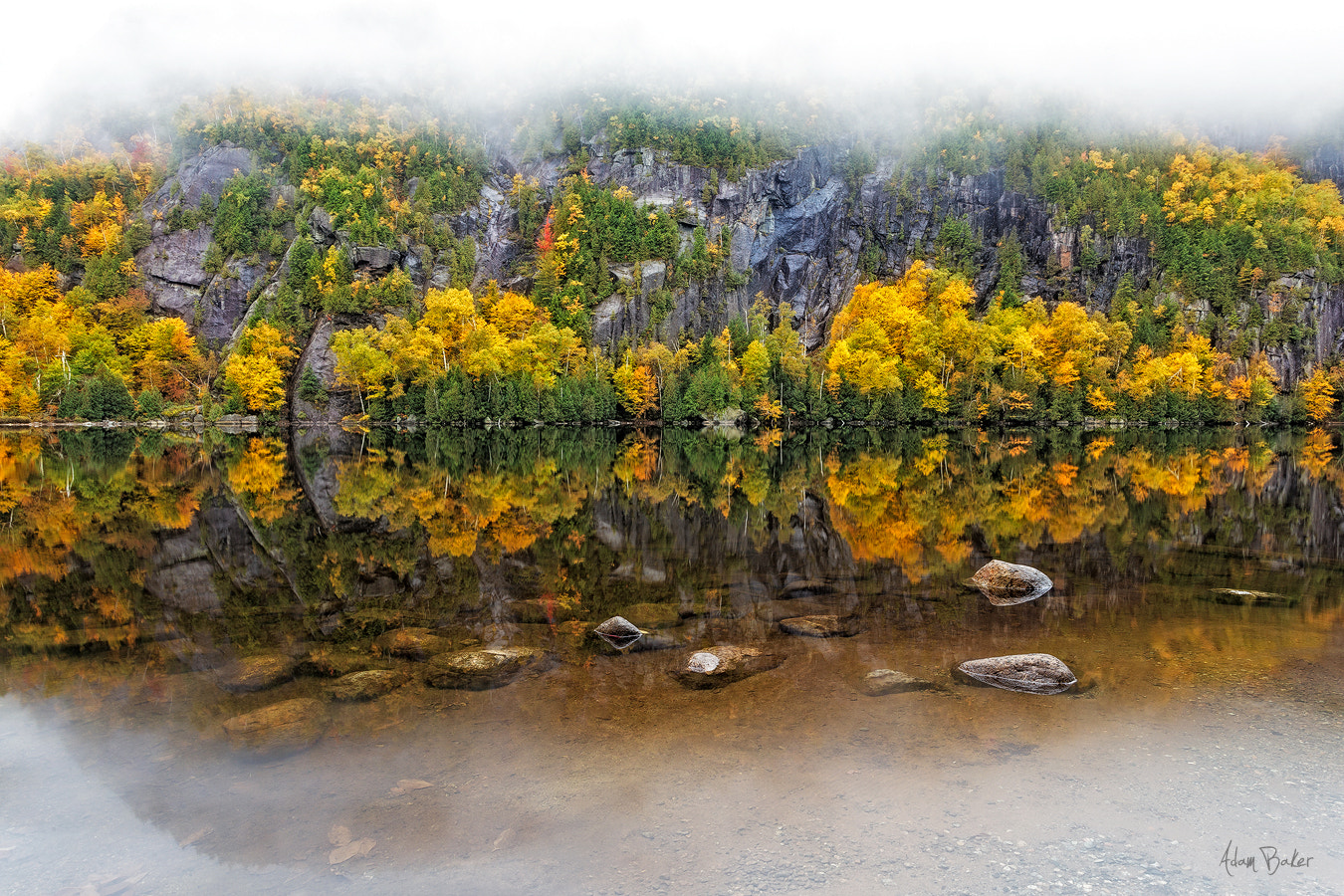 Photograph upon reflection by Adam Baker on 500px