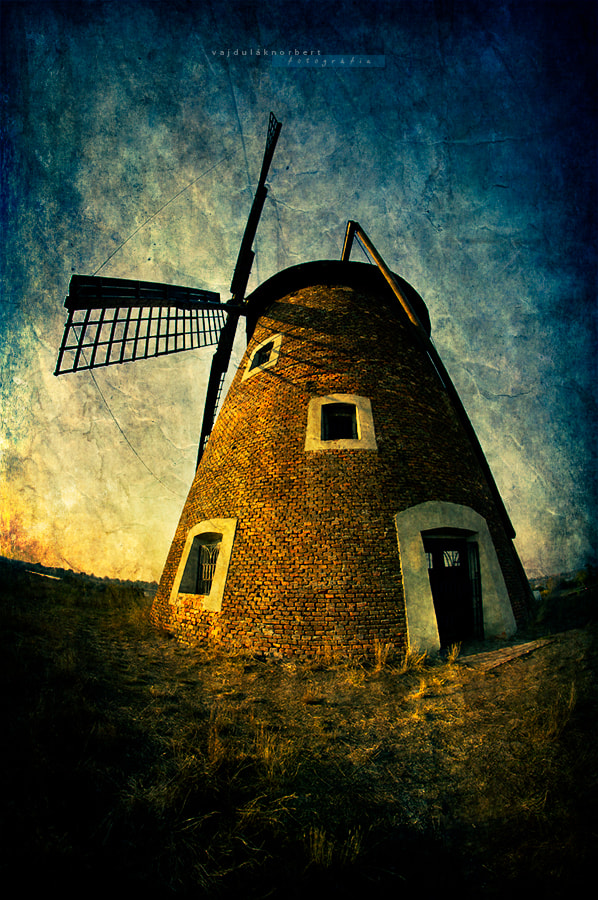 Photograph The old mill by Norbert Vajdulák on 500px