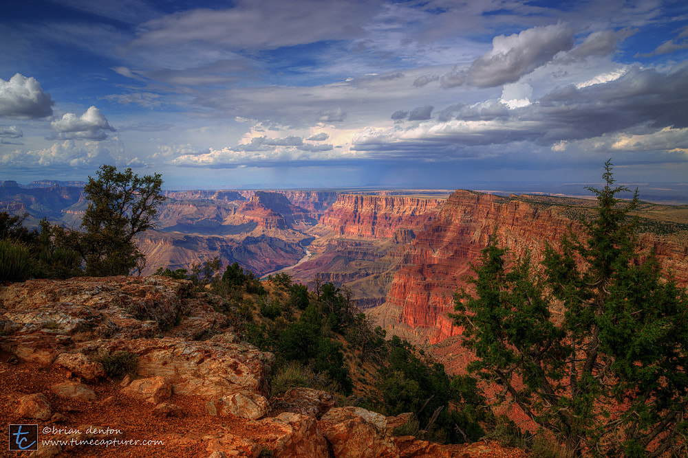 Photograph canyon showers by Brian Denton on 500px