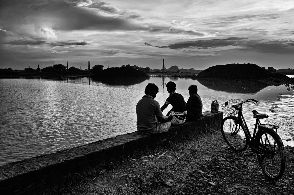 Photograph The day ends by Sourik Ghosh on 500px