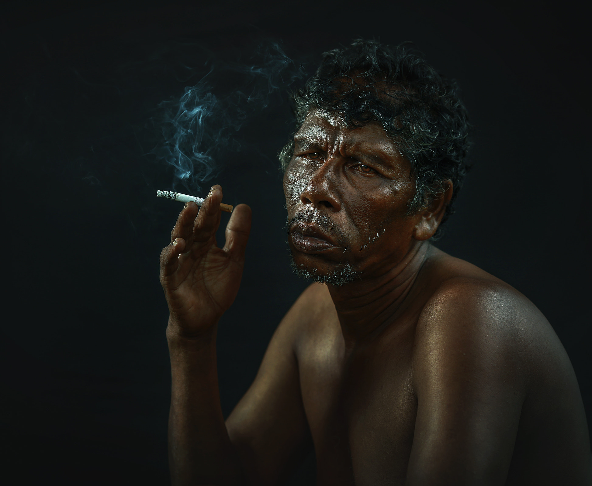 Photograph UNCLE HUSSIN by abe less on 500px